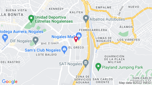 Fairfield Inn & Suites by Marriott Nogales Map