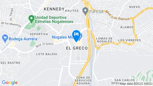 Fairfield Inn & Suites by Marriott Nogales Map
