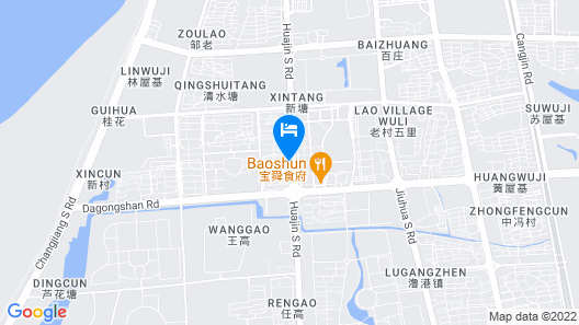 Wuhu Bary Central City Hotel Map