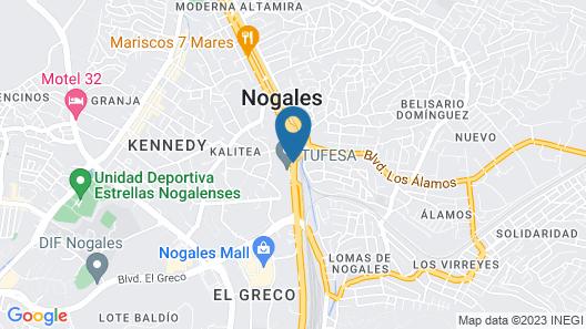 Hotel Marques De Cima Map
