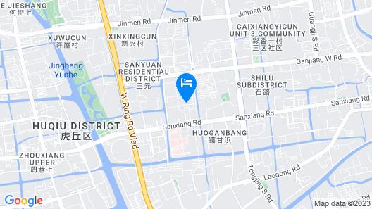 Jinji Lake Shilla Hotel Suzhou Map