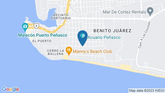 Fiesta de Cortez Map