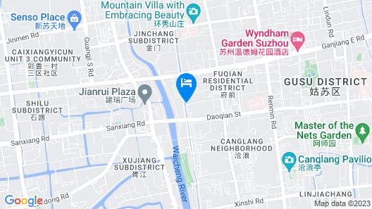 Suzhou Yard Xiaohemanji Map
