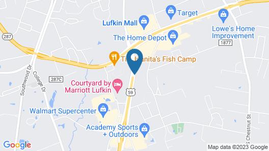 La Quinta Inn by Wyndham Lufkin Map