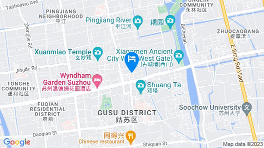 Su She Court Hotel Map