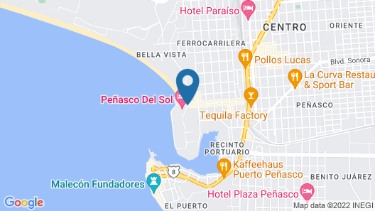 Peñasco del Sol Map