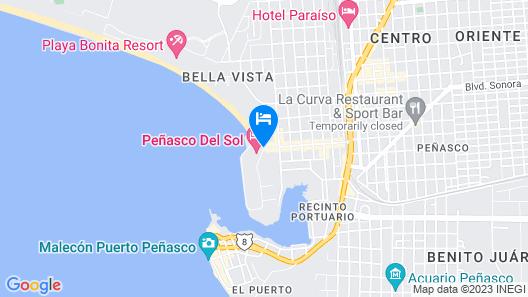 Peñasco del Sol Map