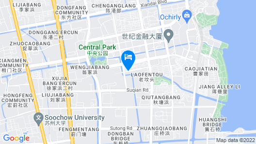 Citadines Xinghai Suzhou Map