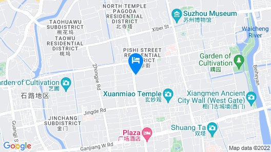 Hotel Soul Suzhou Map
