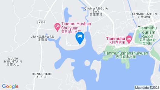 WEI Retreat Tianmu Lake Map