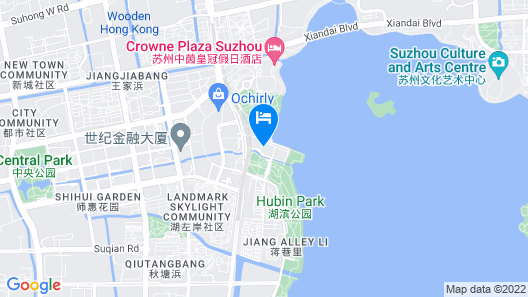 Ibis Styles Suzhou Industrial Park Jinji Lake Hotel Map