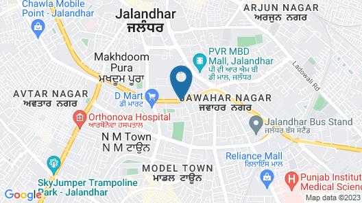 Ramada Encore by Wyndham Jalandhar Map