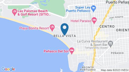 3bd/2bath Luxury Condo By Sandy Beach!? Map