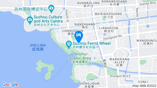 Howard Johnson Jinghope Suzhou Map