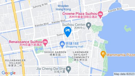 GYA Hotel Jin Ji Lake Oriental Gate Map