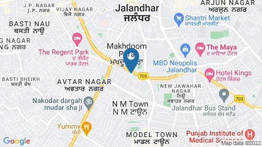Fortune Avenue - Member ITC's Hotel Group Map