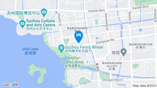 Shangri-La Hotel, Suzhou Yuanqu Map