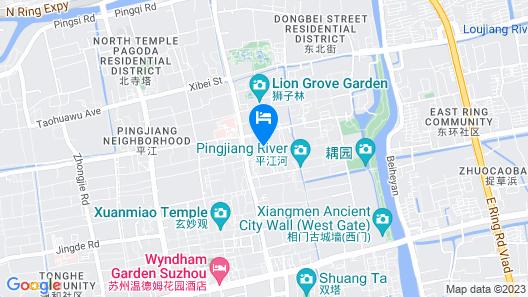 Suzhou Suqilife Homestay Map