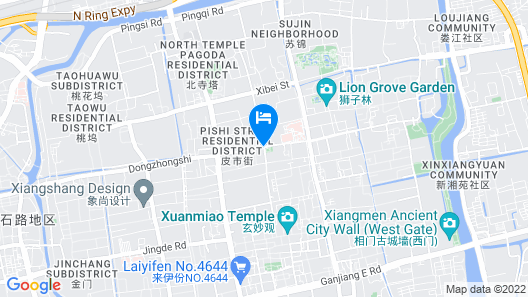 Suzhou Chope Hostel Map