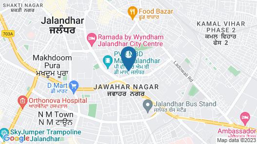 Hotel President New Court Map