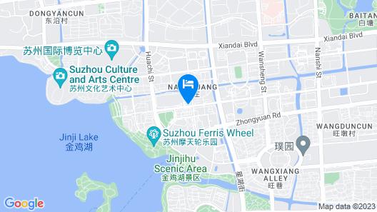 Yousu Hotel&Apt Jinji Lake Suzhou Map