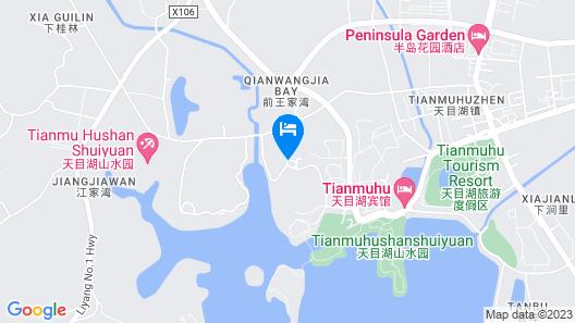 Liyang Tianmu Mingju Hotel Map