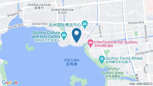 InterContinental Suzhou, an IHG Hotel Map