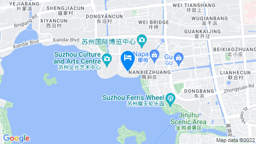 InterContinental Suzhou Map