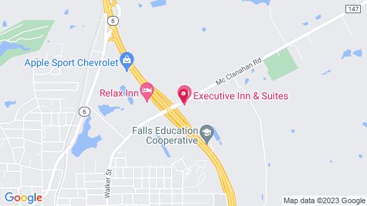 Executive Inn & Suites Map