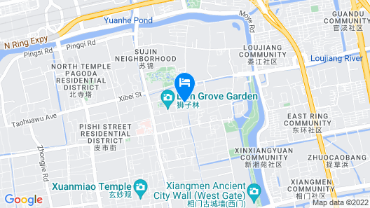 Little Days Boutique Hotel Map