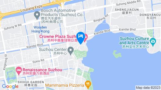 Tonino Lamborghini Hotel Suzhou Map