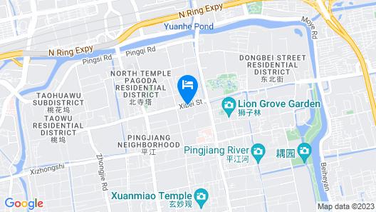 Suzhou Yard Map