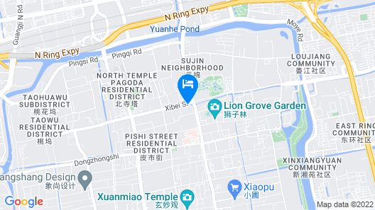 NO.5 Vogue Hotel Suzhou Map