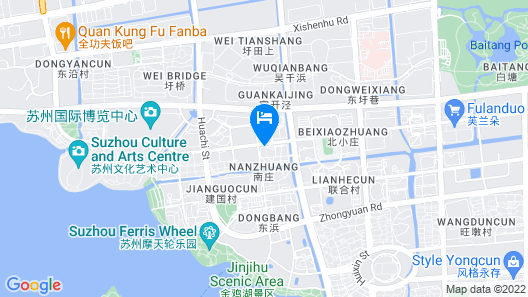 Atour Hotel Jinji Lake Expo Center Suzhou Map