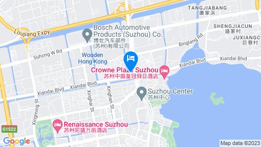 Tonino Lamborghini Boutique Hotel Suzhou Map