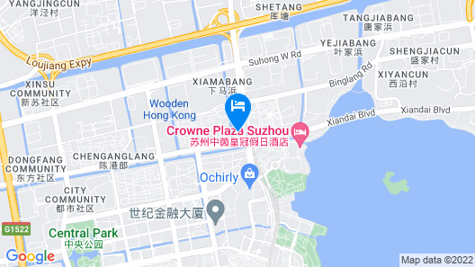 Crowne Plaza Suzhou Map