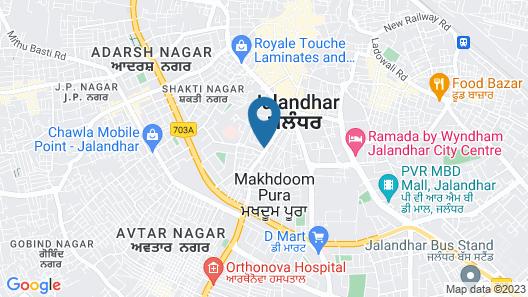 Radisson Hotel Jalandhar Map