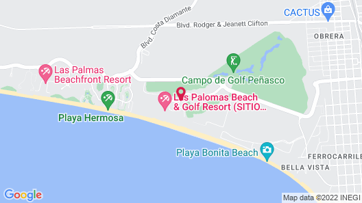 Las Palomas Beach & Golf Resort Map