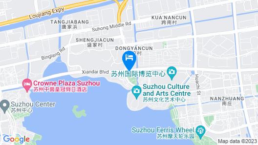 Novotel Suzhou SIP Map