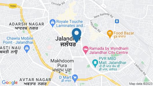 OYO 3504 Vivek International Hotel Map