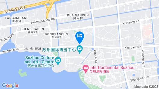 Hyatt Regency Suzhou Map