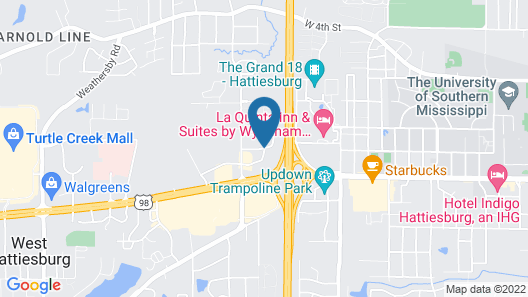Best Western Premier University Inn Map