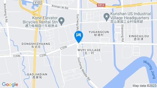 Mercure Kunshan Hi Tech Zone (Opening November 2018) Map