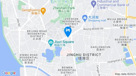 Wuhu Alton Hotel Map