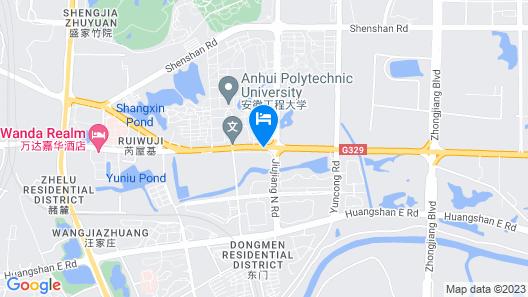 Wanda Realm Wuhu Map