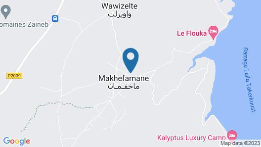 Dar Boumida Map