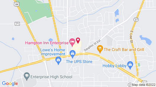 Holiday Inn Express And Suites Enterprise, an IHG Hotel Map