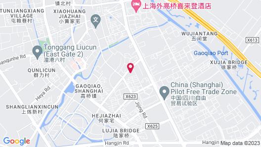 Crowne Plaza Shanghai Pudong, an IHG Hotel Map