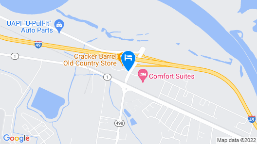 La Quinta Inn & Suites by Wyndham Alexandria Airport Map