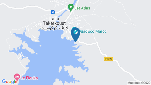 La Villa du Lac Map